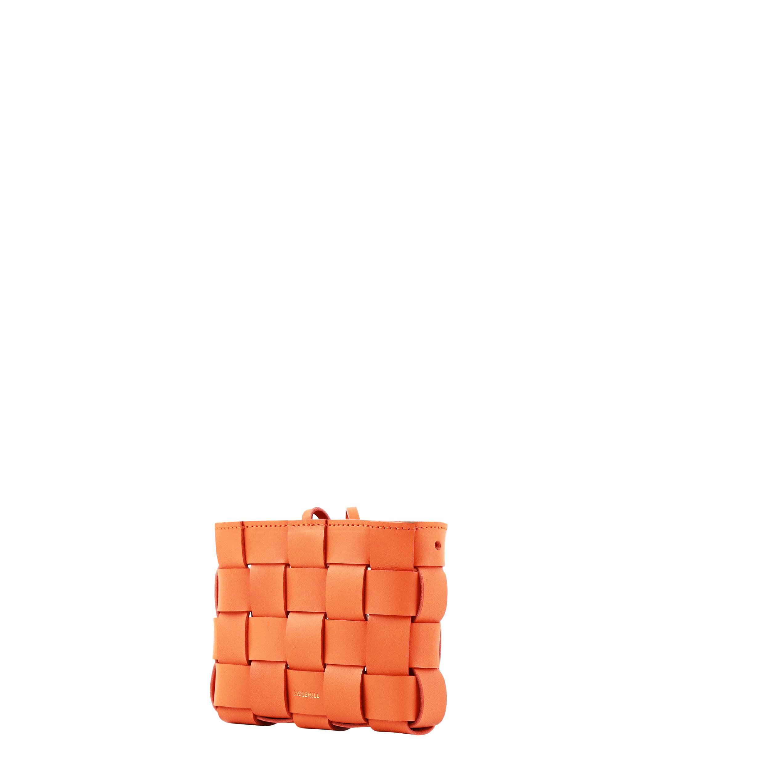 Pane Mini Crossbody Woven Bag Orange-4