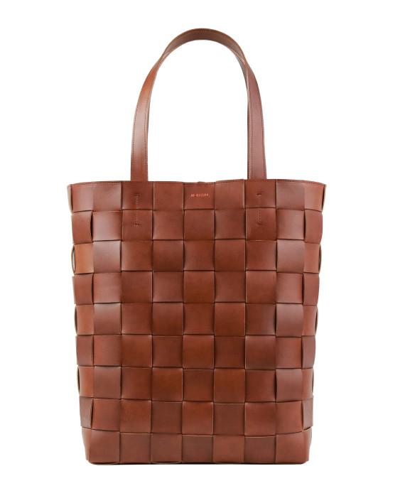 Pane Shopper Woven Bag Vertical Wild-1
