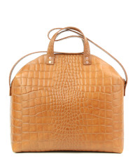 Torba-Madura Handbag Croco Honey SS1
