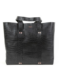 KRAFLA Croco Black 1
