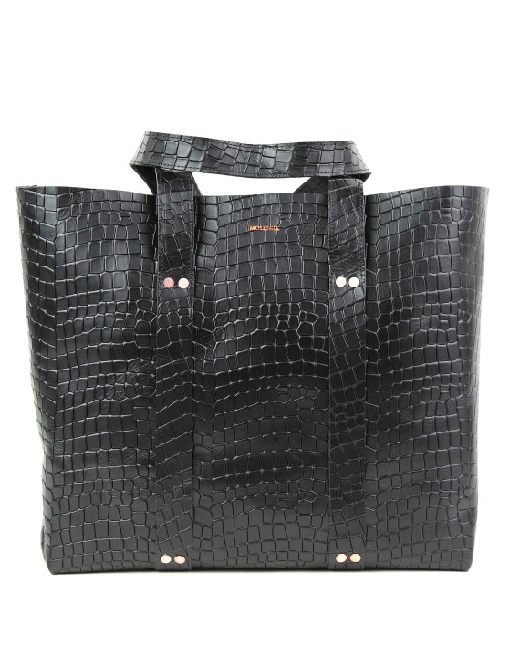 KRAFLA Croco Black 2