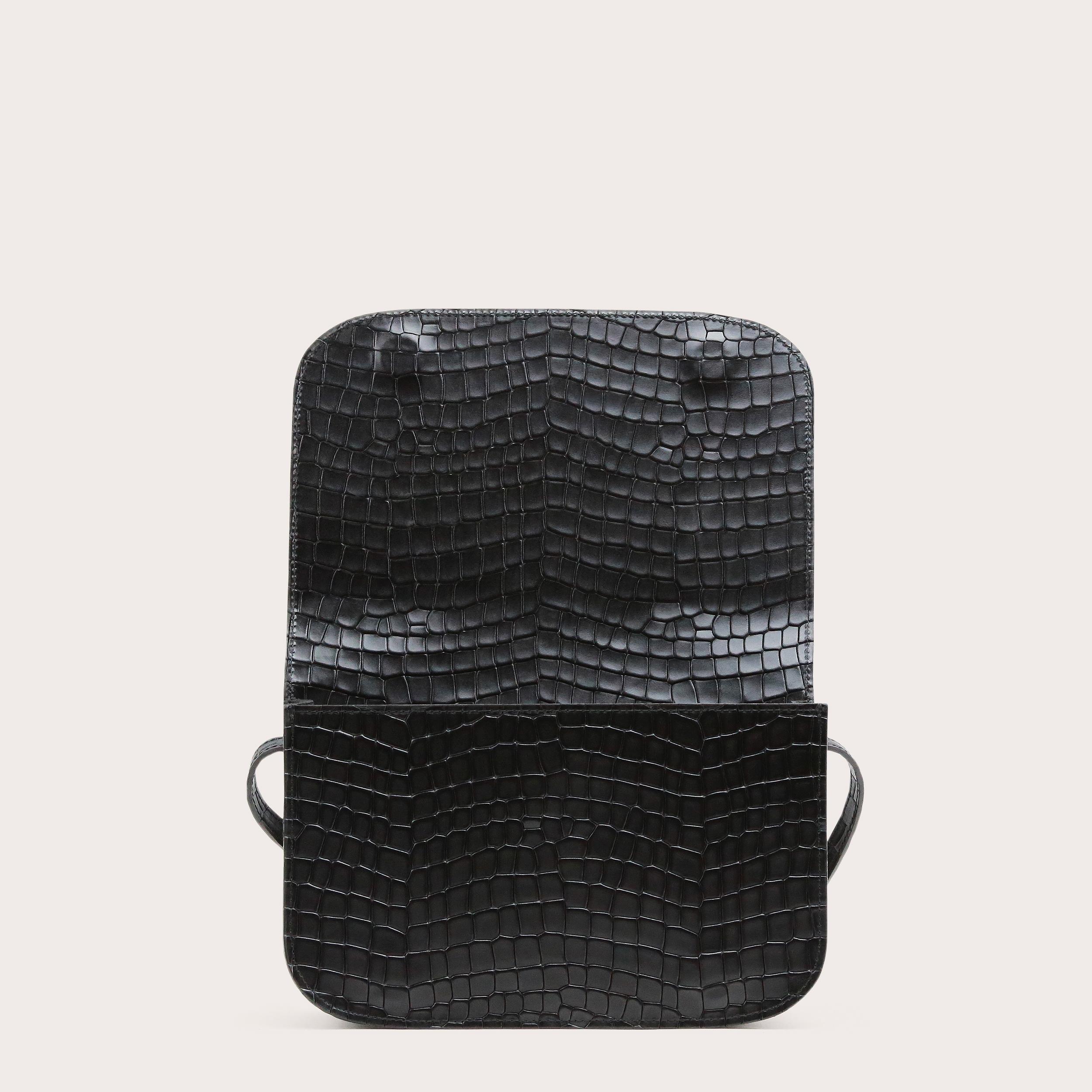 NORTE-Crossbody-Bag-Croco-Black-3