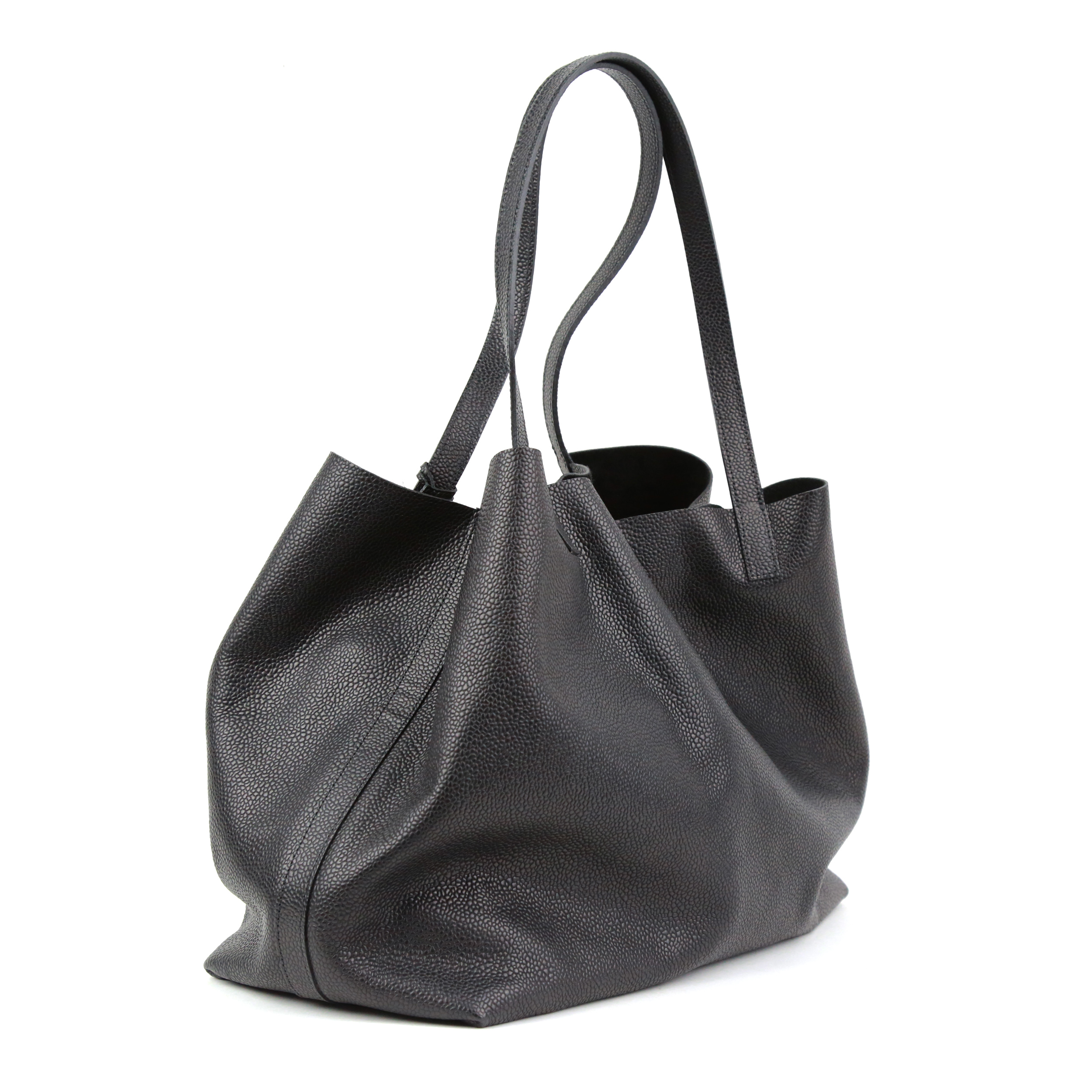 Shopper Black Grained Prototyp-4