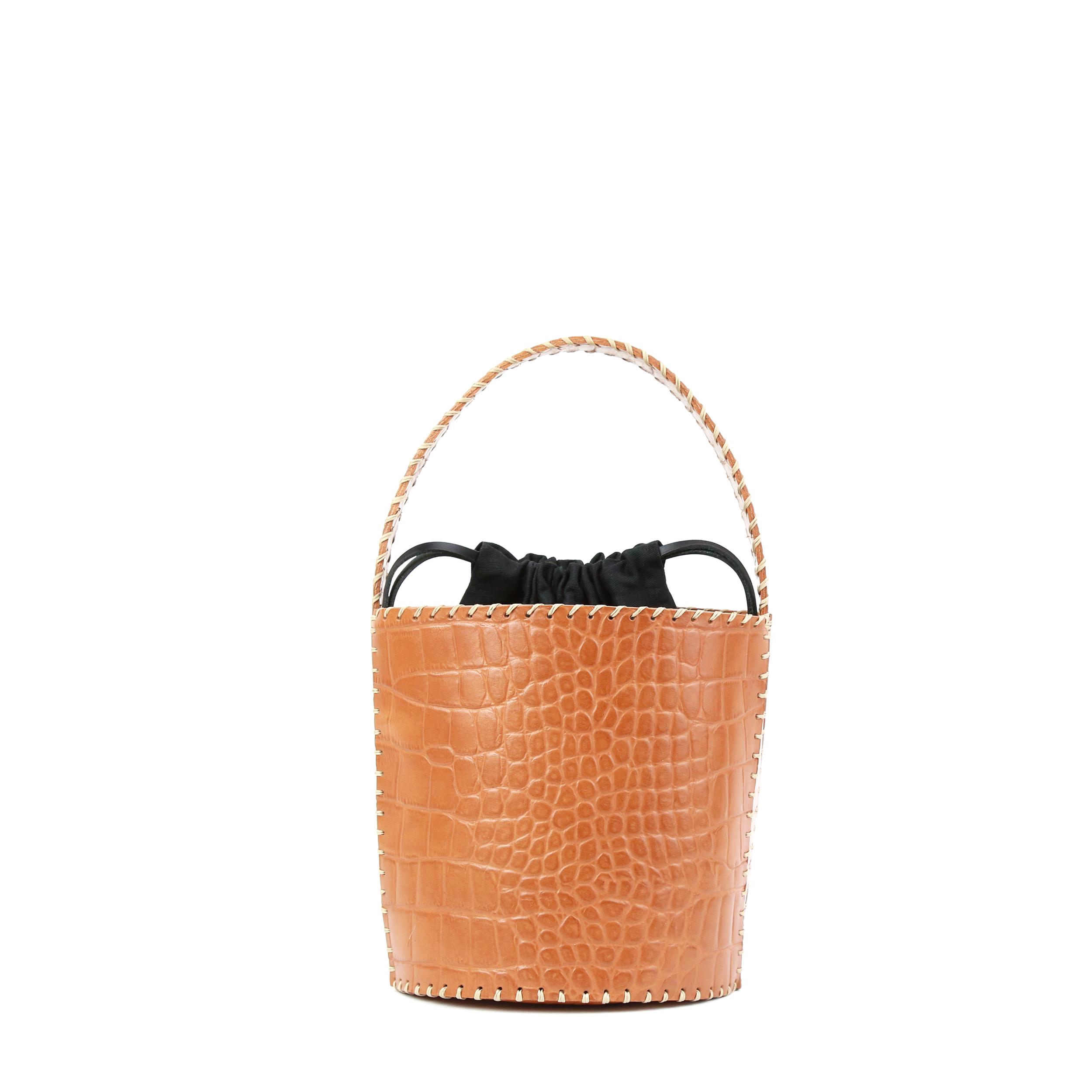 Torba-Bucket Honey Croco Prototyp-1