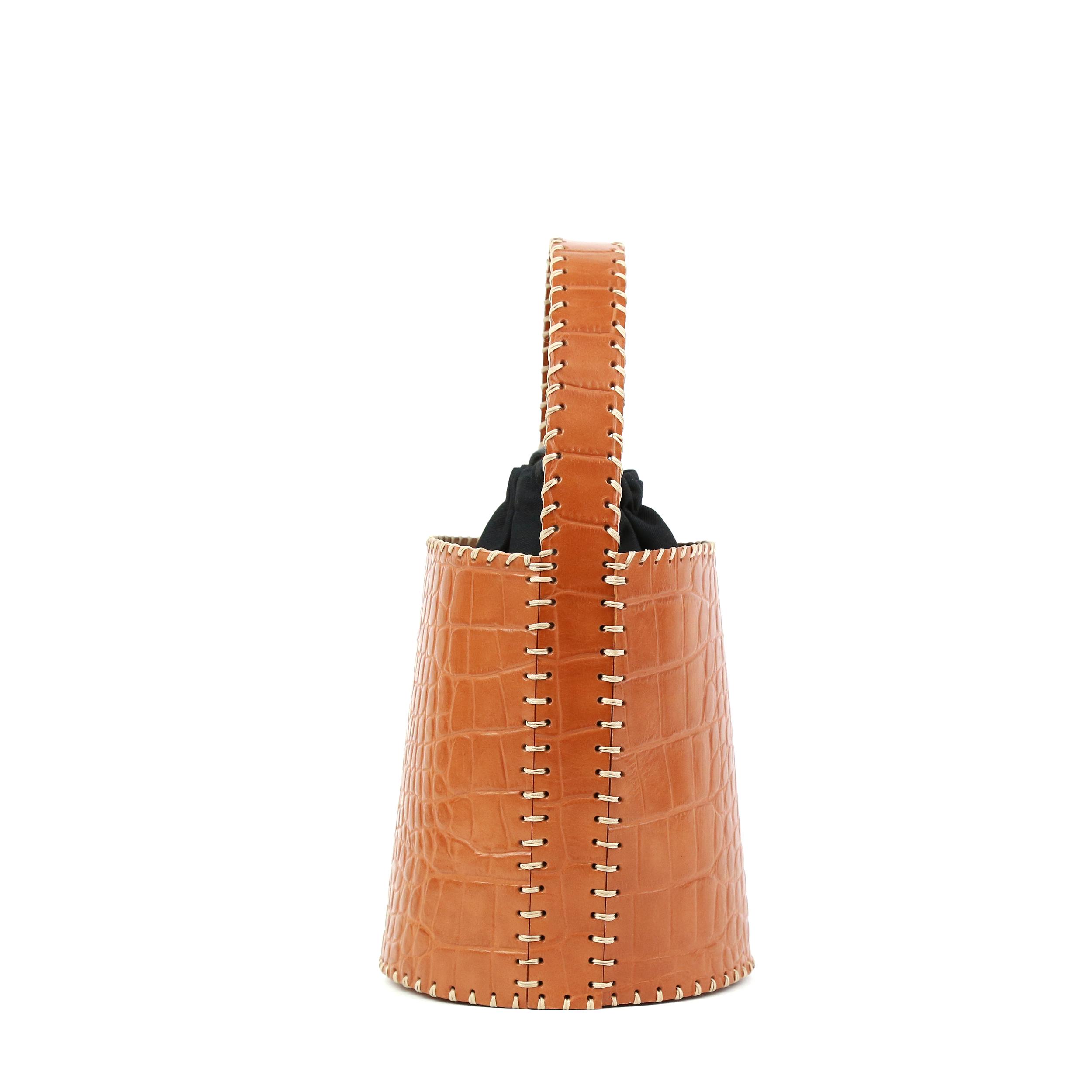Torba-Bucket Honey Croco Prototyp-3