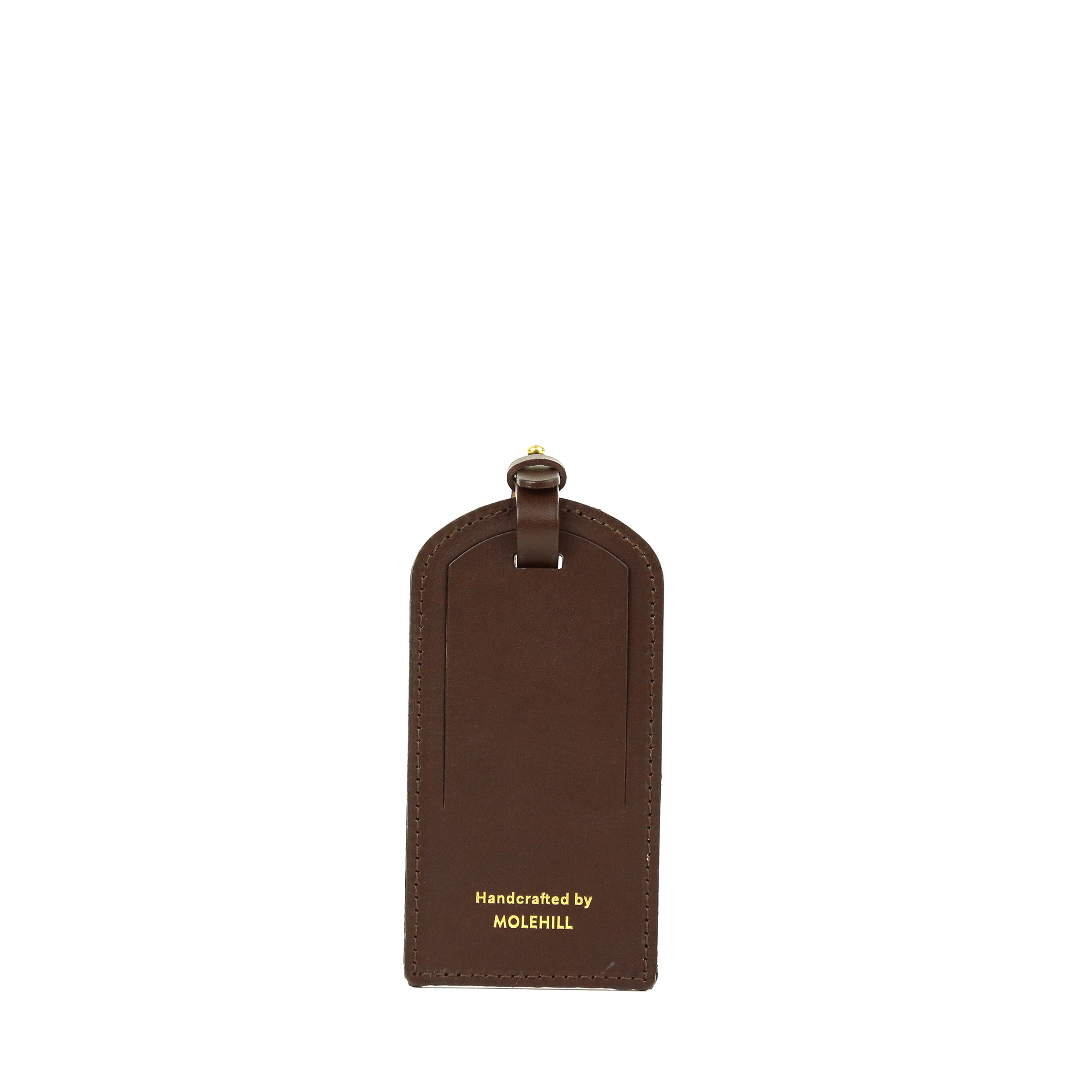 Travel Tag Dark Brown