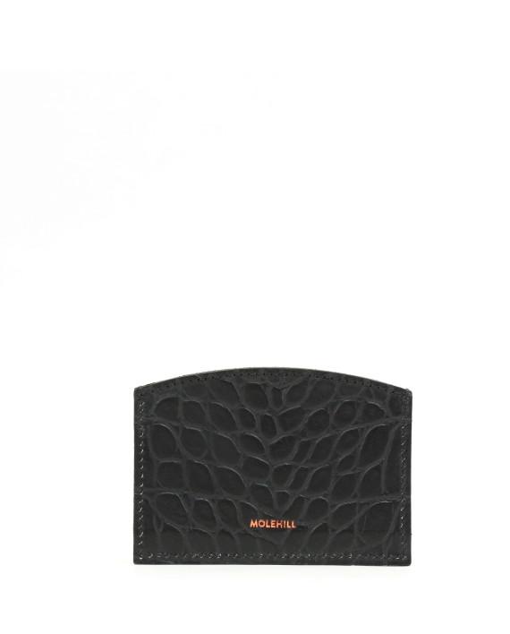 CARD HOLDER CROCO Black-1
