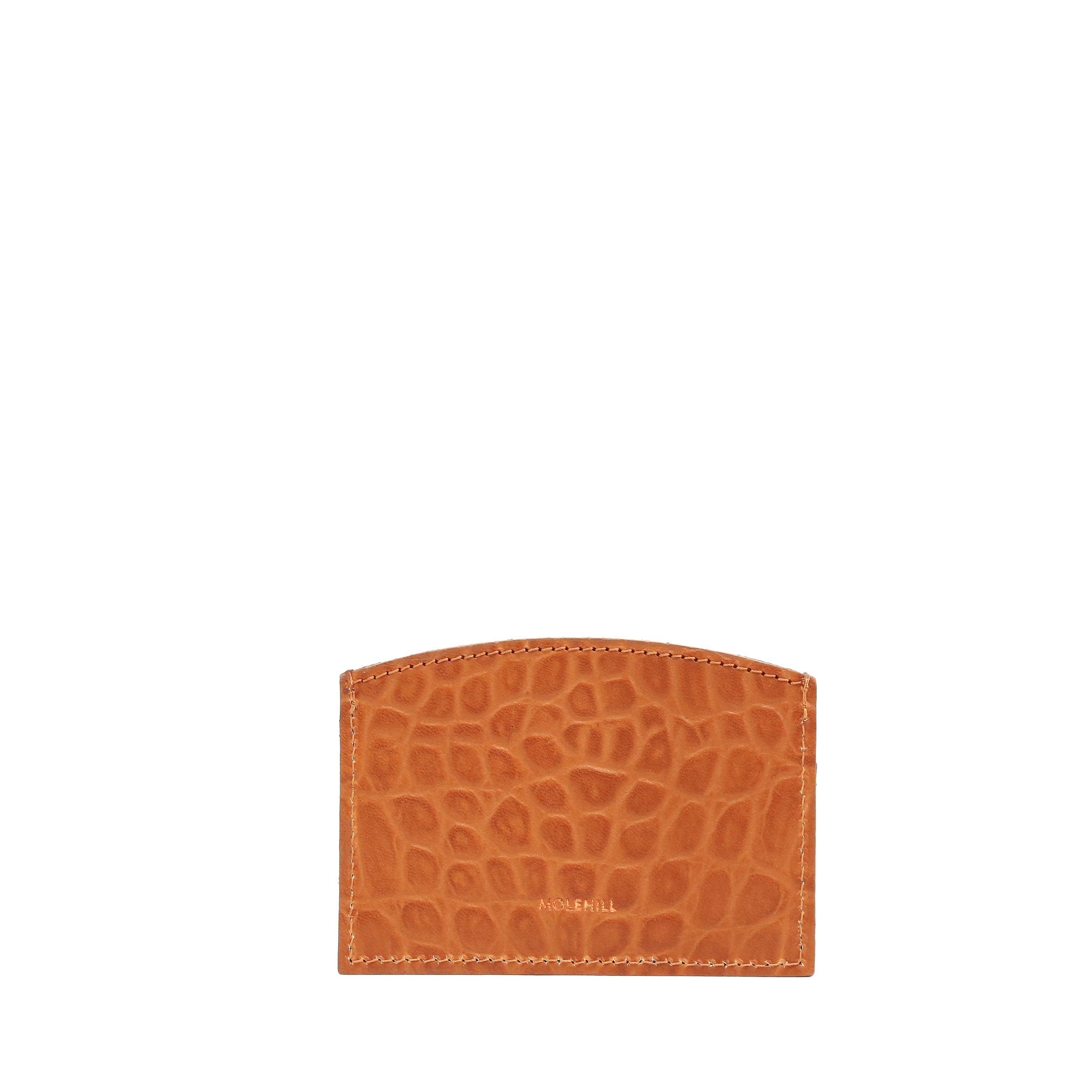 CARD HOLDER CROCO Honey 2-1
