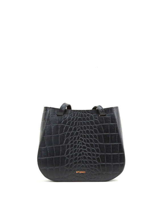 LESA Small Croco Black Special Edit-1