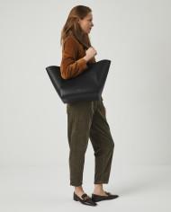Torba ESTE Large Zip Weekender Bag Black 7
