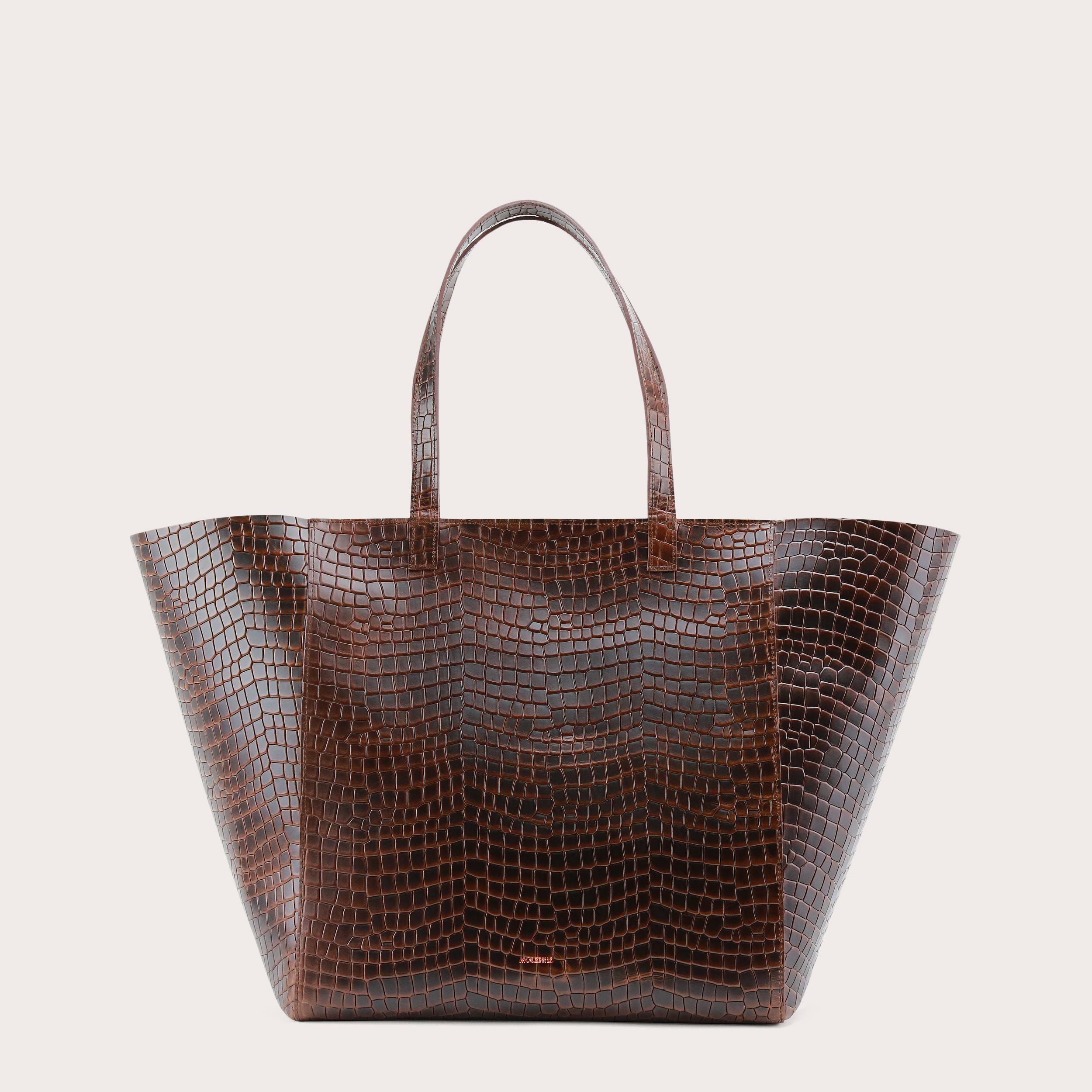 Torba ESTE Large Zip Weekender Bag Croco 1