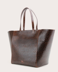 Torba ESTE Large Zip Weekender Bag Croco 3