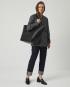 Torba ESTE Large Zip Weekender Bag Croco Black 7