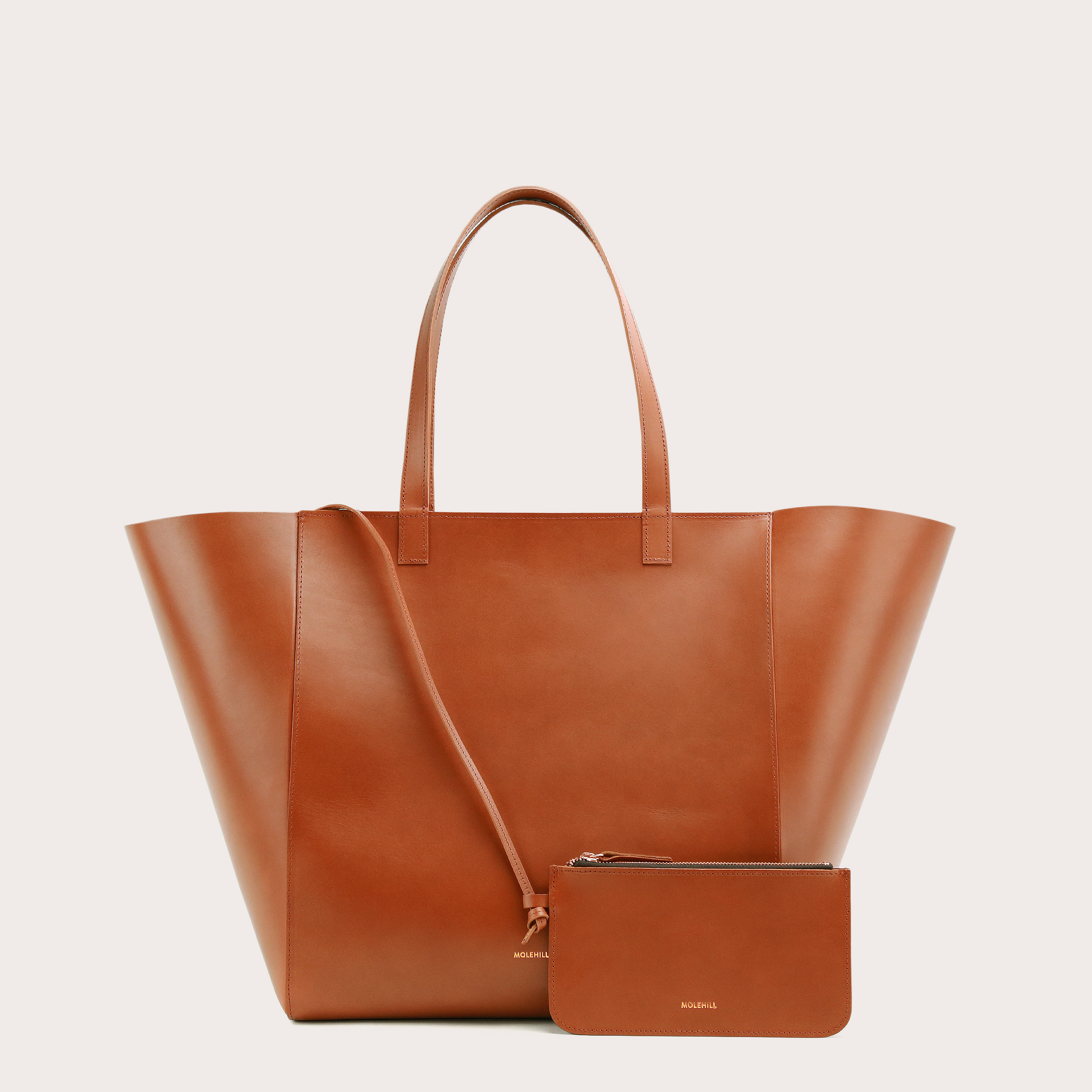 Torba ESTE Large Zip Weekender Bag Tan 2