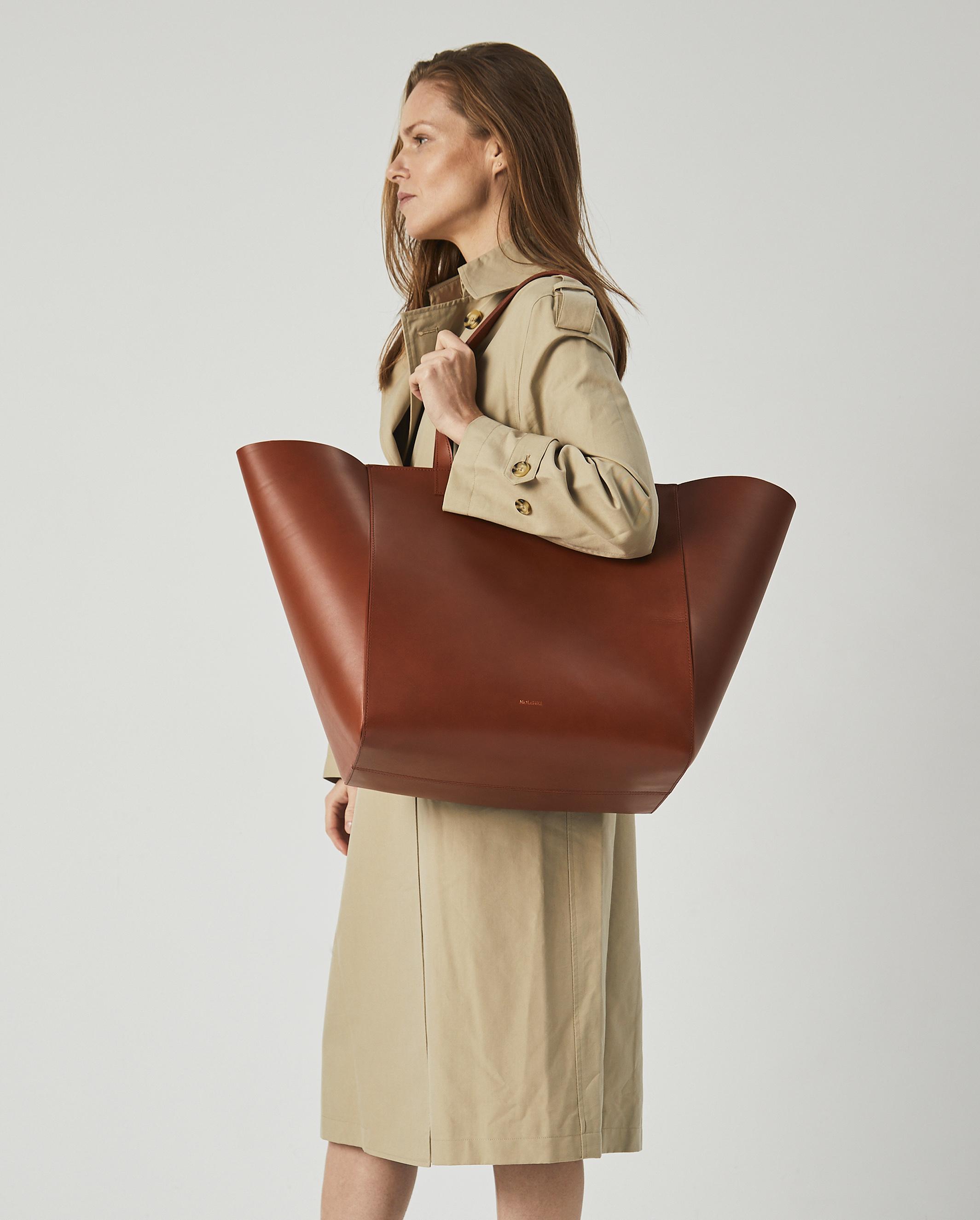 Torba ESTE Large Zip Weekender Bag Tan 5