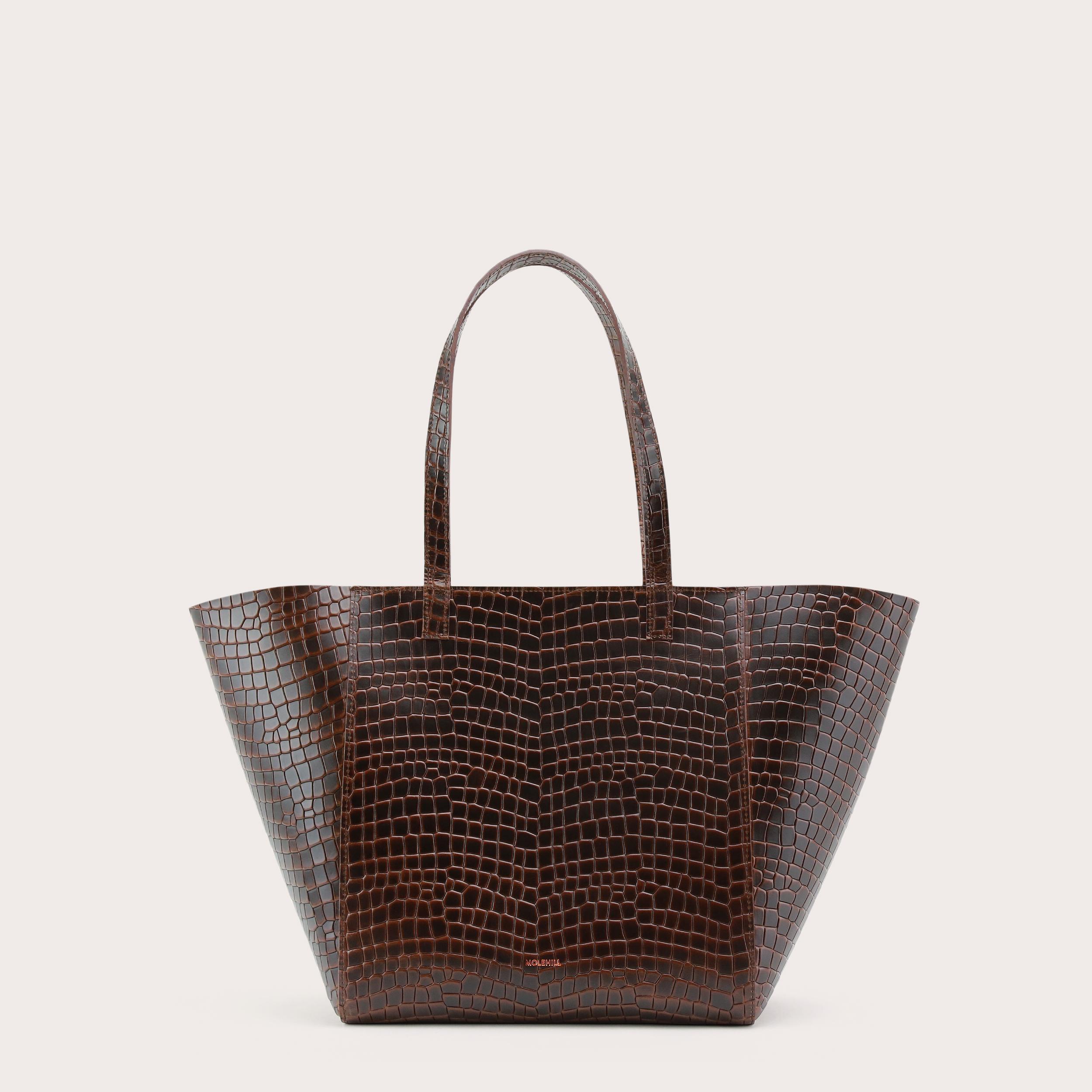 Torba ESTE Medium Zip Shopper Bag Croco 1
