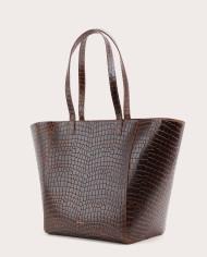 Torba ESTE Medium Zip Shopper Bag Croco 3