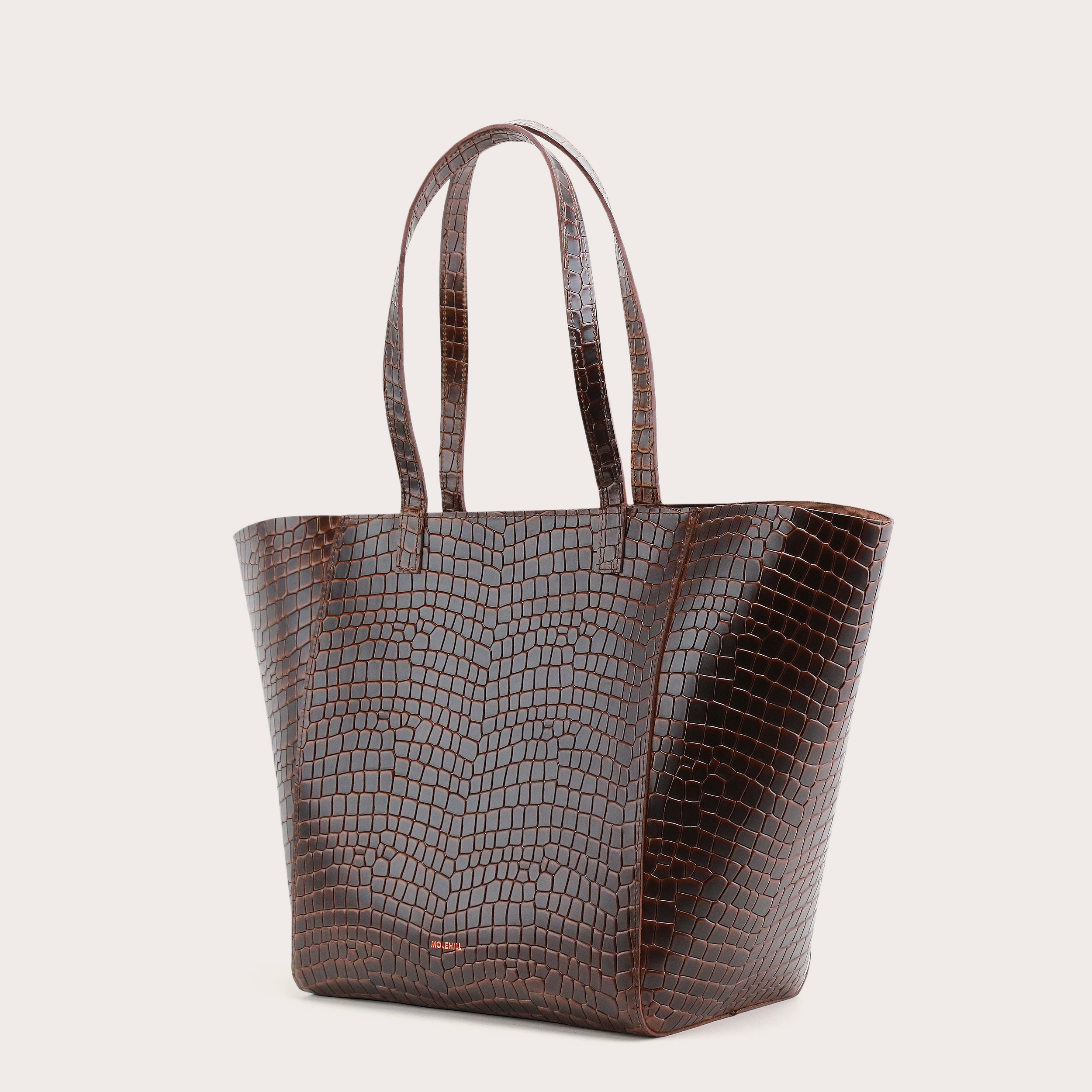 Torba ESTE Medium Zip Shopper Bag Croco 3