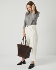 Torba ESTE Medium Zip Shopper Bag Croco 6
