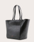 Torba ESTE Medium Zip Shopper Bag Croco Black 3