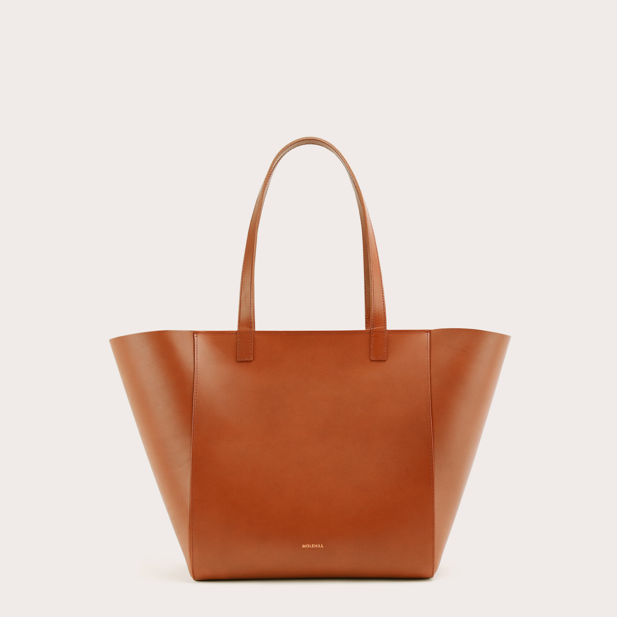Torba ESTE Medium Zip Shopper Bag Tan 1