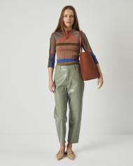 Torba ESTE Medium Zip Shopper Bag Tan 6