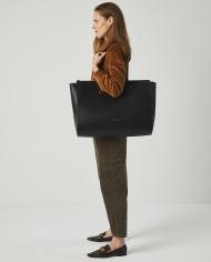 Torba SUR Large Zip Weekender Bag Black 5