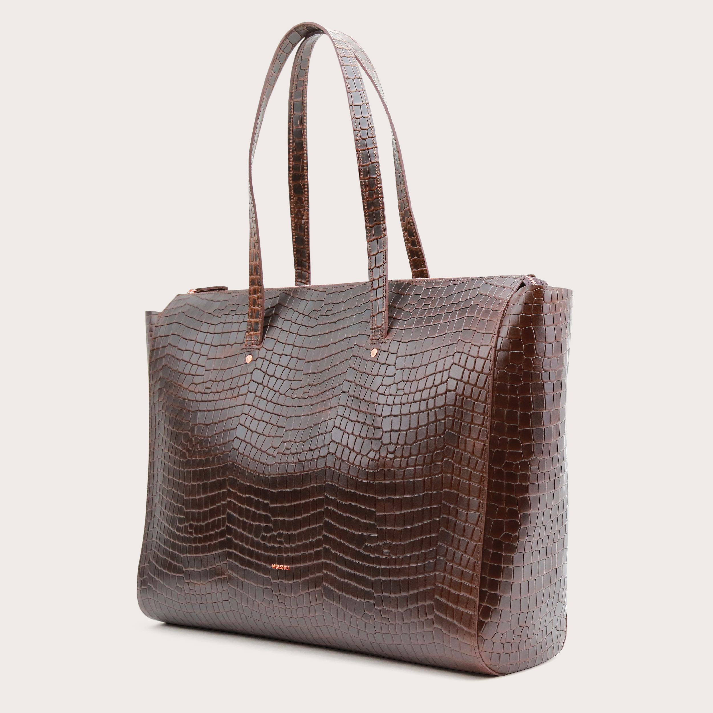 Torba SUR Large Zip Weekender Bag Croco 2