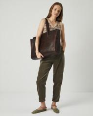 Torba SUR Large Zip Weekender Bag Croco 5
