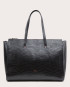 Torba SUR Large Zip Weekender Bag Croco Black 1