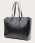 Torba SUR Large Zip Weekender Bag Croco Black 2