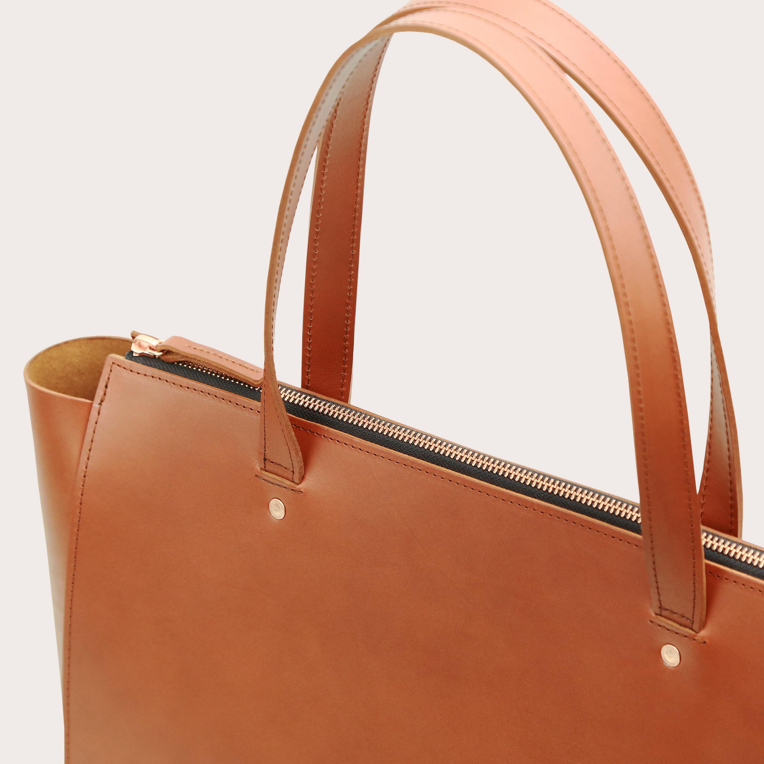 Torba SUR Large Zip Weekender Bag Tan 3