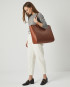 Torba SUR Large Zip Weekender Bag Tan 6