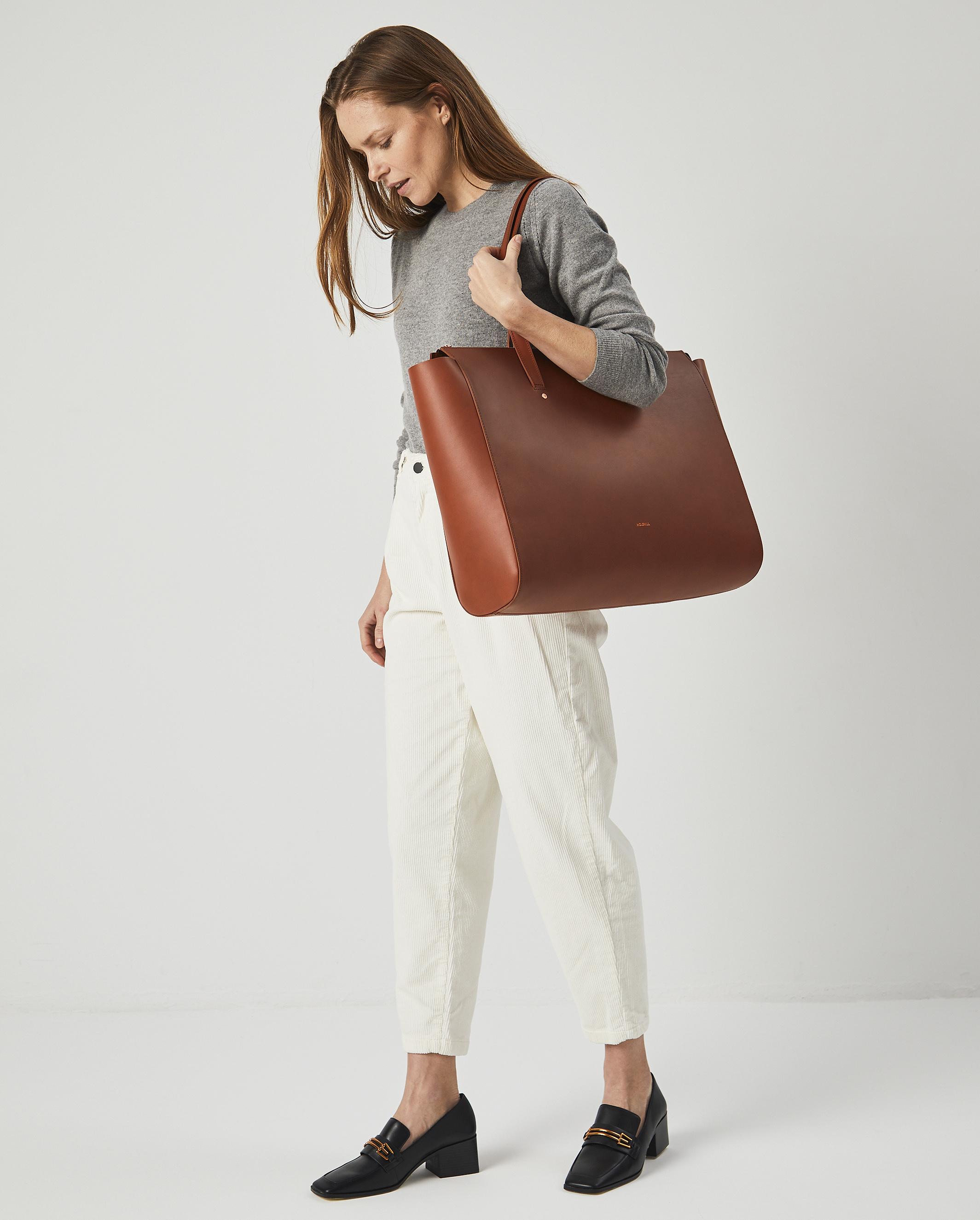 Torba SUR Large Zip Weekender Bag Tan 6