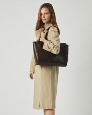 Torba SUR Medium Everyday Bag Croco 4