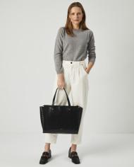 Torba SUR Medium Everyday Bag Croco Black 6