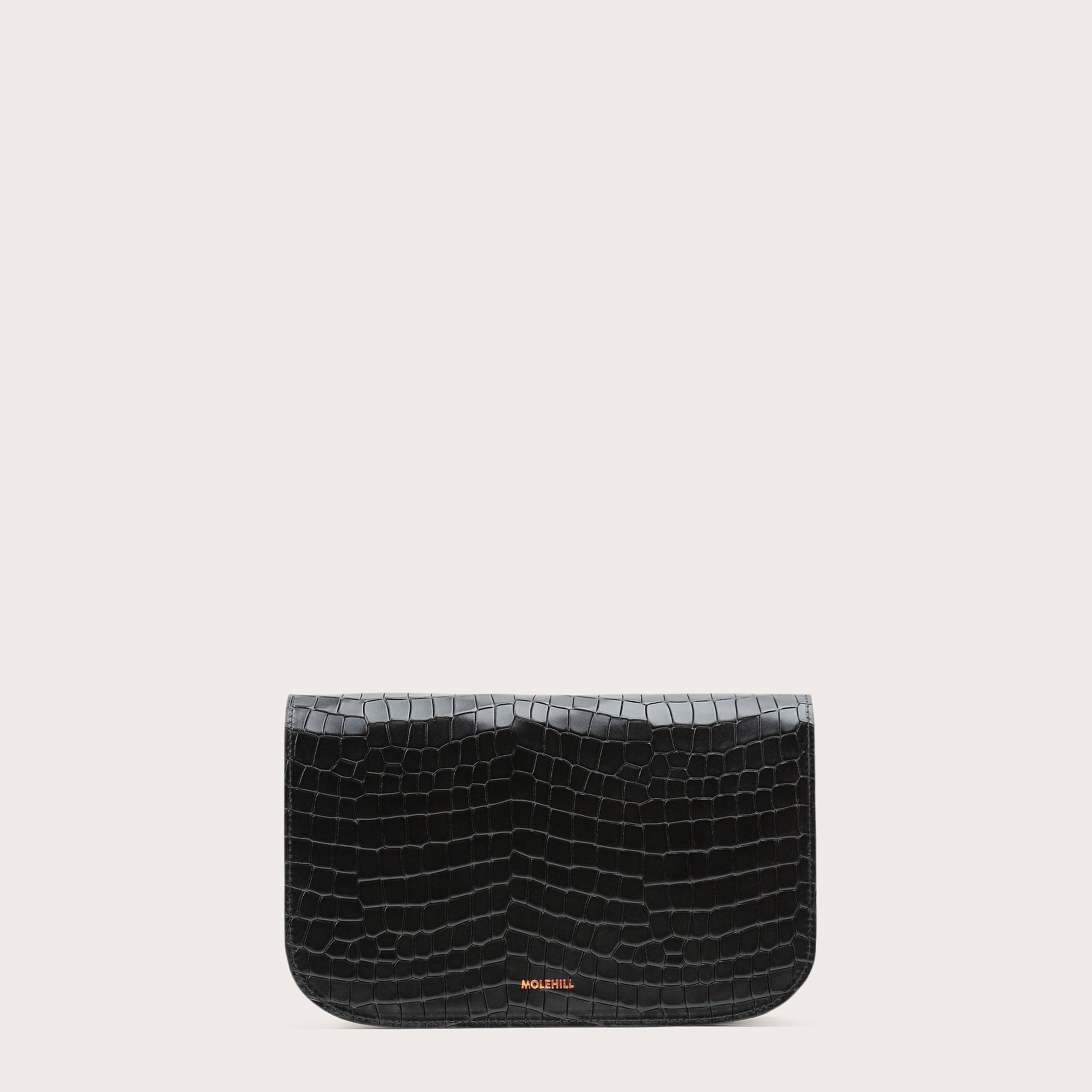 Torebka NORTE Crossbody Bag Croco Black 1