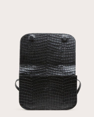 Torebka NORTE Crossbody Bag Croco Black 3