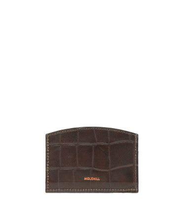 CARD HOLDER CROCO Brown 1-1