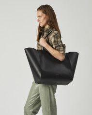 Torba ESTE Large Zip Weekender Bag Black 5