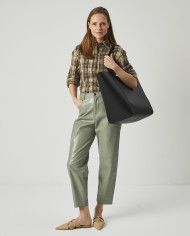 Torba ESTE Large Zip Weekender Bag Black 6