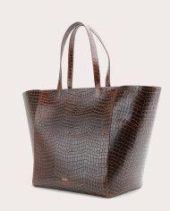 Torba ESTE Large Zip Weekender Bag Croco 3