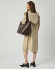 Torba ESTE Large Zip Weekender Bag Croco 7