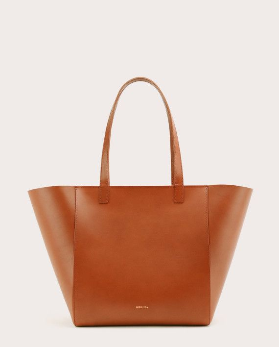 Torba ESTE Medium Zip Shopper Bag Tan 1