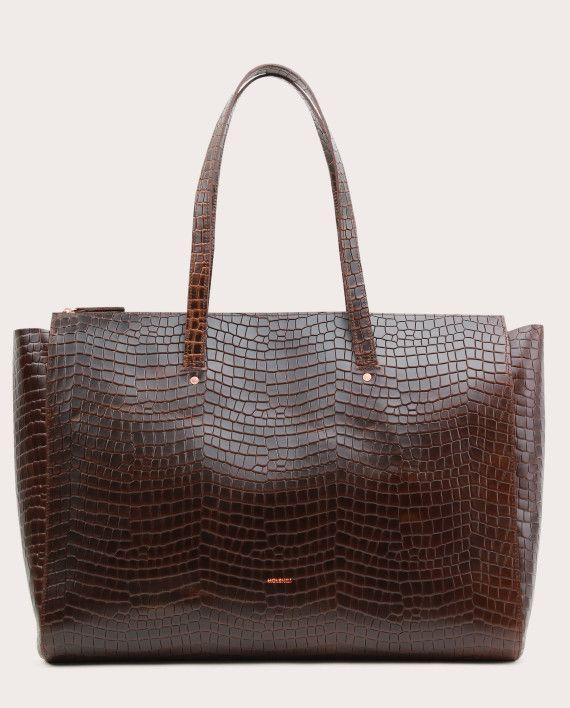 Torba SUR Large Zip Weekender Bag Croco 1