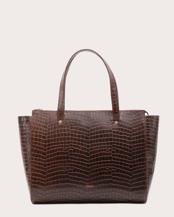 Torba SUR Medium Everyday Bag Croco 1
