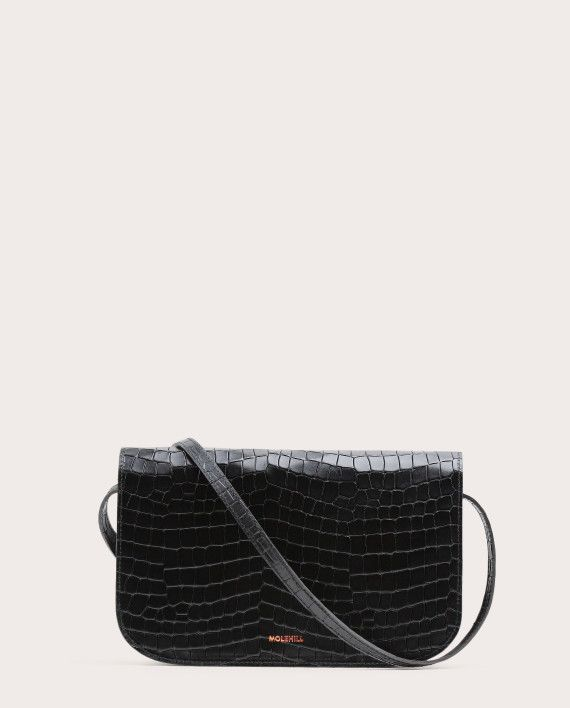Torebka NORTE Crossbody Bag Croco Black 2