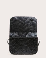 Torebka NORTE Crossbody Bag Croco Black 3