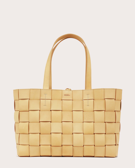 PANE Shopper Woven Bag Horizontal Natural-1