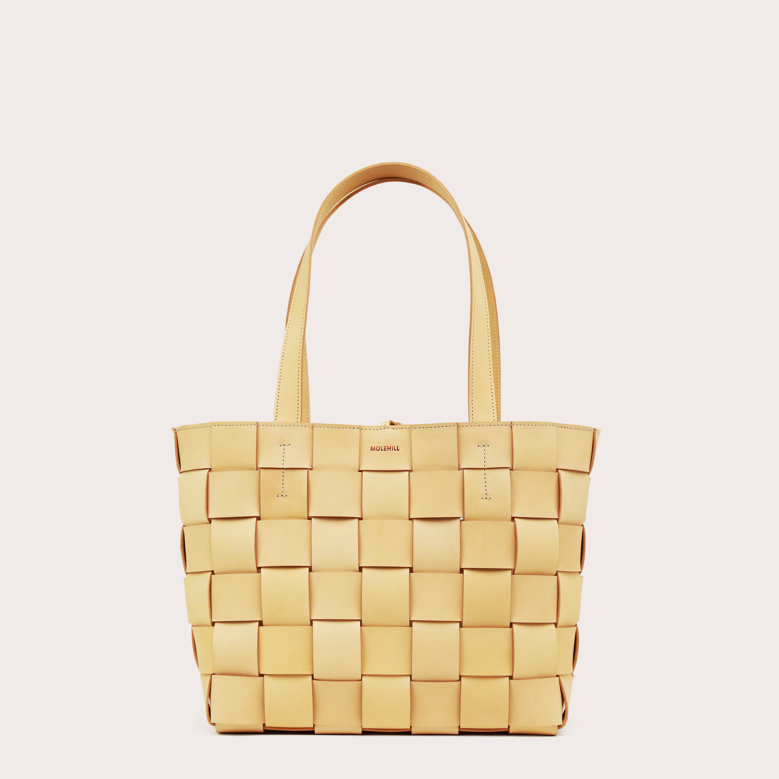 PANE Tote Woven Bag Natural-1